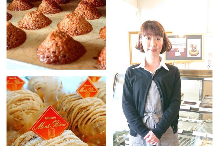 おいしいお菓子を作る技術と、お客様に喜んでいただくための工夫が、「パティスリー モンブラン」の売上を伸ばしています!(*^_^*)
